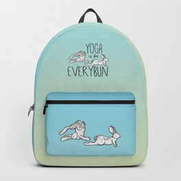 Yoga is for Everybun Backpack