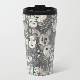 sweater mice mint Travel Mug