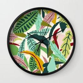 Naive Nature Wall Clock
