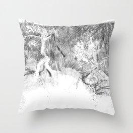 Seven Children Throw Pillow