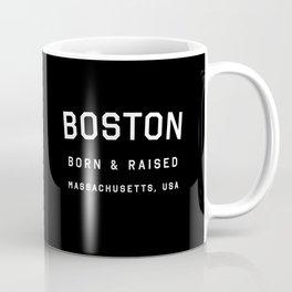 Boston - MA, USA (Black Arc) Coffee Mug