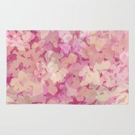Peach Pie Floral Rug