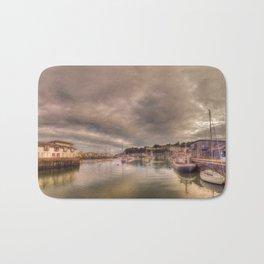 Porthmadog Harbour at Dusk Bath Mat