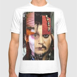 Faces Johnny Depp T-shirt