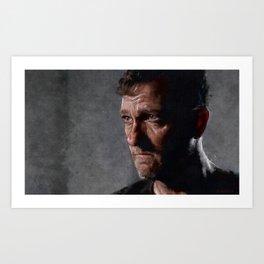 Richard From The Kingdom - Bury Me Here - The Walking Dead Art Print