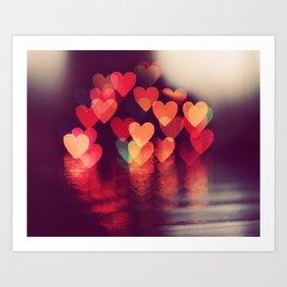 Love LIGHTS Art Print