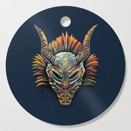 Killmonger Tribal Mask Cutting Board