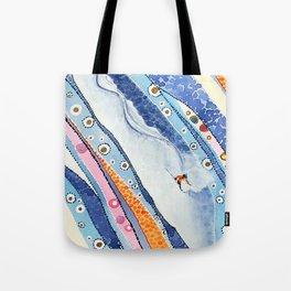 Spine Lines Tote Bag