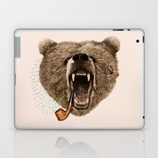 Angry Bear Laptop & iPad Skin