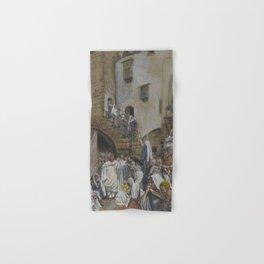 James Tissot - A Woman Cries Out in a Crowd Hand & Bath Towel