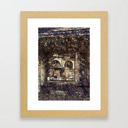 Hat Shop Framed Art Print
