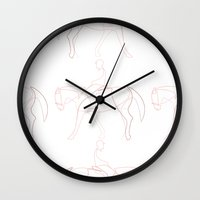 quibe Wall Clocks featuring Rider line by quibe