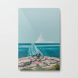 I can almost see you Metal Print