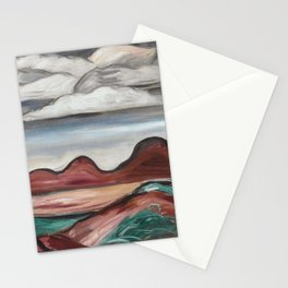 Marsden Hartley New Mexico Landscape Stationery Cards
