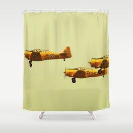 Harvard Airplanes Shower Curtain