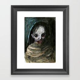 Demon Woman Framed Art Print