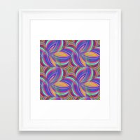 psychedelic Framed Art Prints featuring Psychedelic by David Zydd