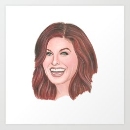 Grace Adler (Will and Grace) Art Print