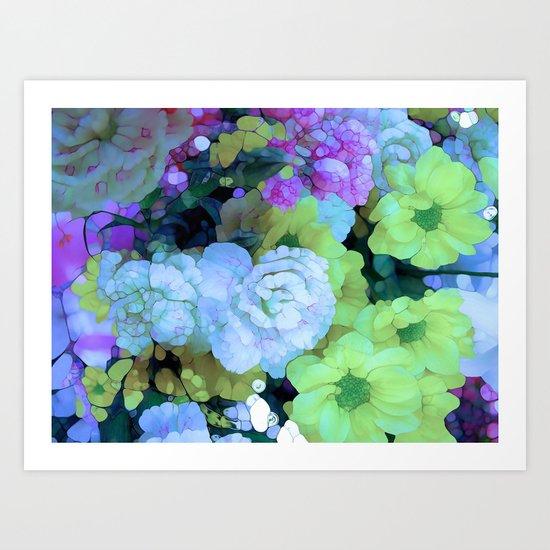Bella Flores Art Print