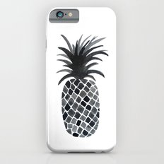 Black and White Pineapple Slim Case iPhone 6s