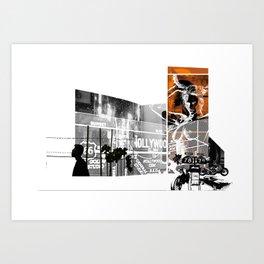 ROUGHCUT#08242015 Art Print