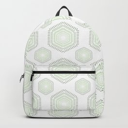 Green Shade Polygon Backpack