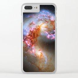 Antennae Galaxies Clear iPhone Case