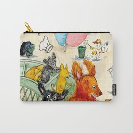The Dogs Take Over Coney Island Carry-All Pouch