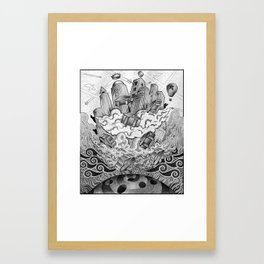 Fata Morgana Framed Art Print