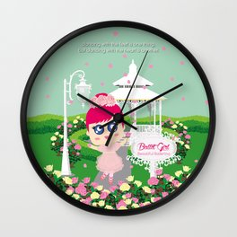Ballet Girl Wall Clock