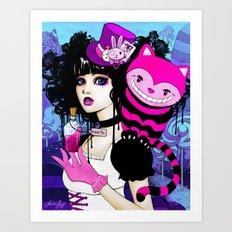 Alice Returns to Wonderland Art Print