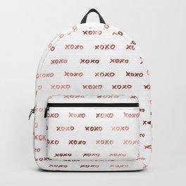 XOXO Fashion Love Rose Gold Pattern 3 Backpack