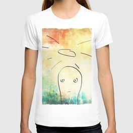 Confused Little Jesus T-shirt