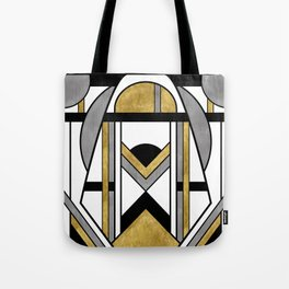 Up and Away - Art Deco Spaceman Tote Bag