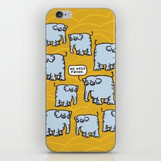 Elephant Cluster iPhone & iPod Skin