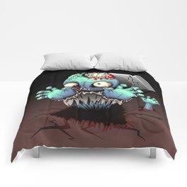 Zombie Monster Cartoon Doll Comforters