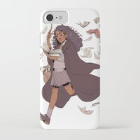 hermione iPhone & iPod Cases featuring Hermione by batcii