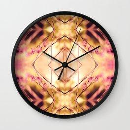 PINK SPANGLES no9-R1 Wall Clock