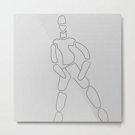 Man Metal Print