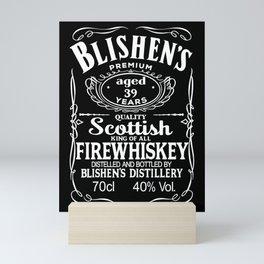 Bilshen's Fire Whiskey Mini Art Print