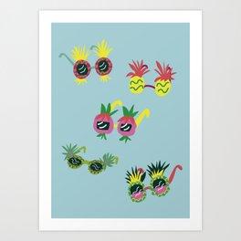 Pineapple Sunnies Art Print