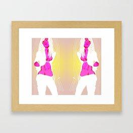 Slouch un Framed Art Print