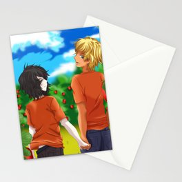 Solangelo Strawberry fields Stationery Cards