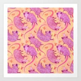 Possum Squad Art Print