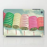 lanterns iPad Cases featuring Chinese Lanterns by Cassia Beck