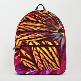 Macro Painted Tongue Backpack