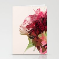 passion Stationery Cards featuring Passion by Magenda