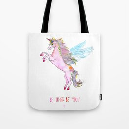 Be Unic Be You! Tote Bag