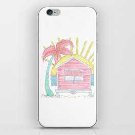 Beach Shack Vibes iPhone Skin