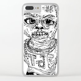 The Punk Kid Clear iPhone Case